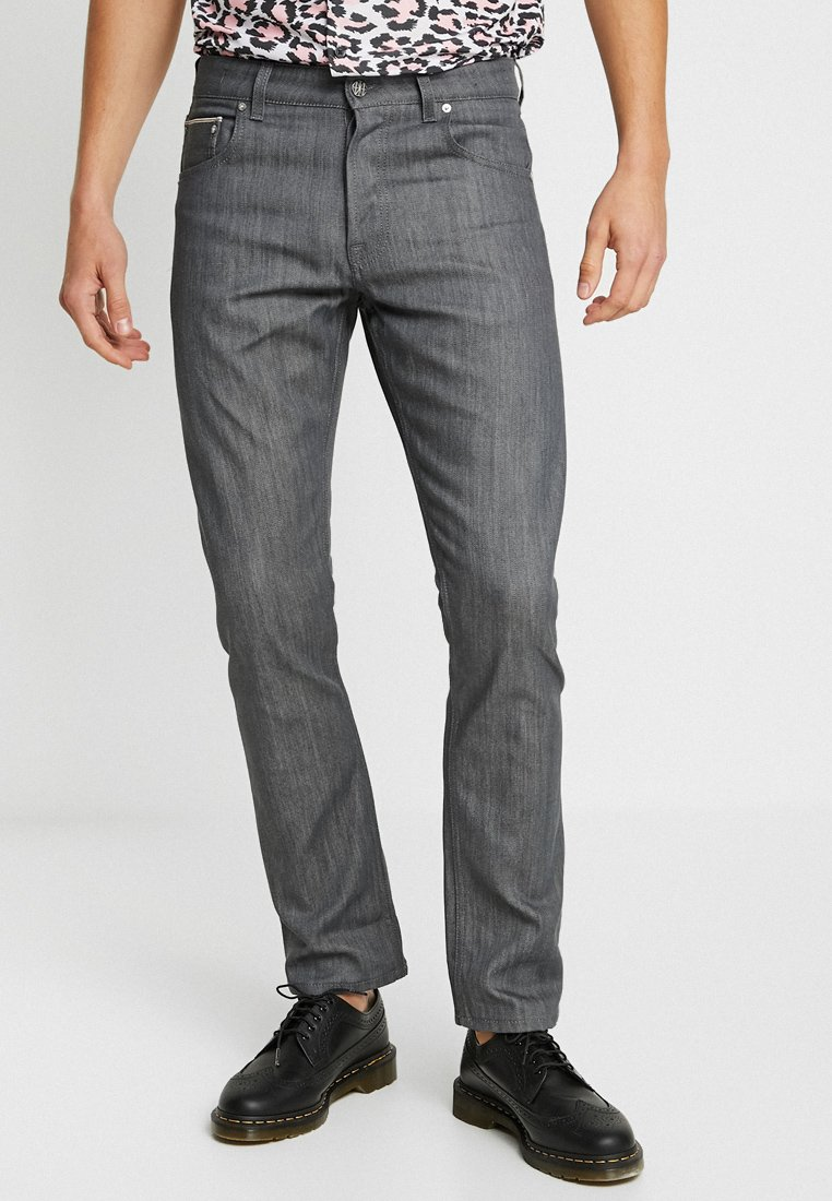 Amsterdenim - REMBRANDT - Straight leg jeans - original grey selvedge