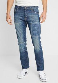 Amsterdenim - REMBRANDT - Jeans Straight Leg - blue denim - 0