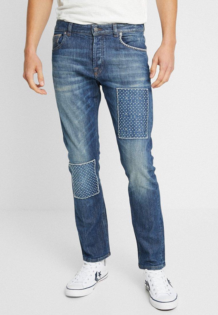 Amsterdenim - REMBRANDT - Jeans a sigaretta - blue denim