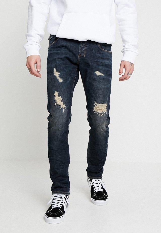 JOHAN - Jeans Straight Leg - brood