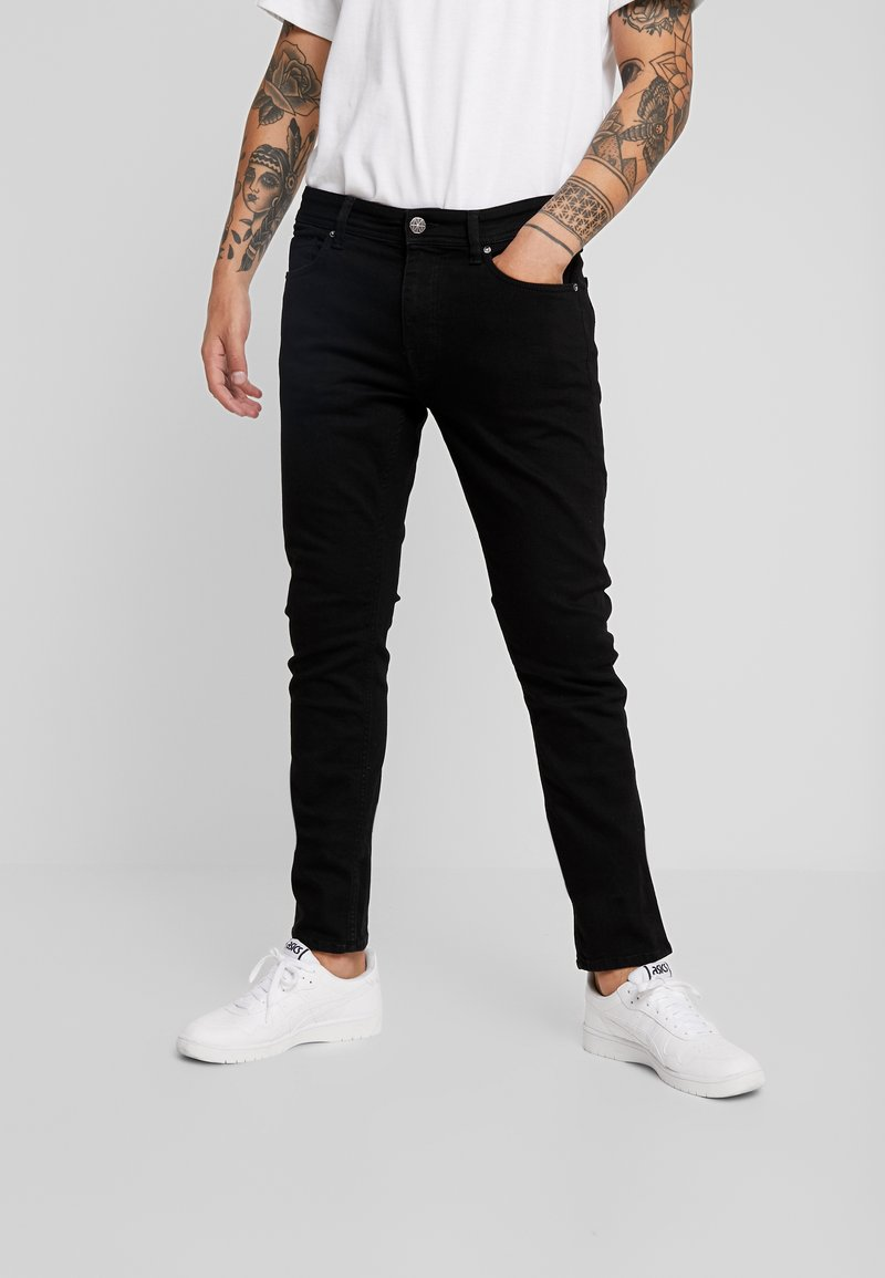 Amsterdenim - JAN - Vaqueros slim fit - swart