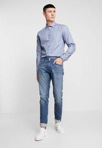Amsterdenim - JAN - Džíny Slim Fit - blue denim - 1