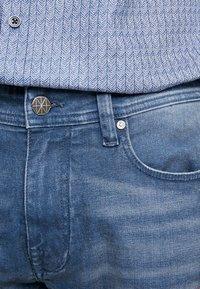 Amsterdenim - JAN - Džíny Slim Fit - blue denim - 3