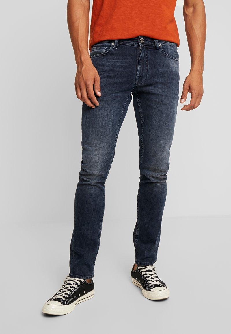 Amsterdenim - JAN - Slim fit jeans - diep water