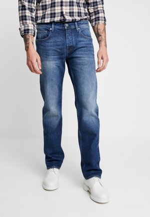 KLAAS - Relaxed fit jeans - donker steen