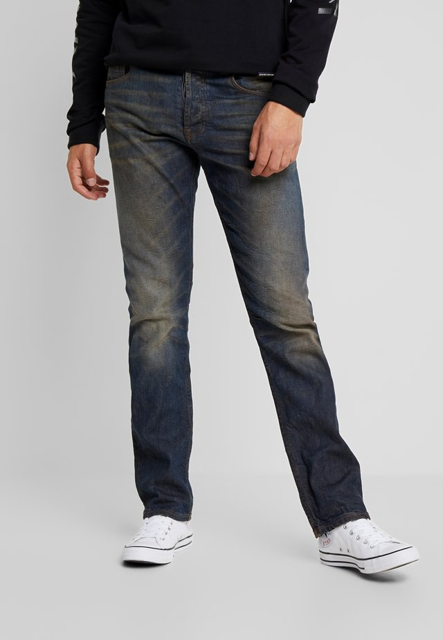 REMBRANDT SELVEDGE - Džíny Straight Fit - hand tanned