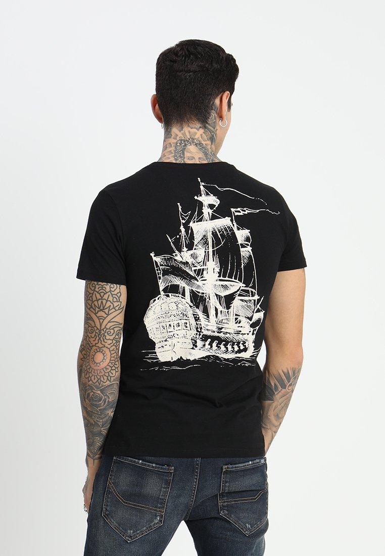 Amsterdenim - MICHIEL - T-shirt con stampa - black