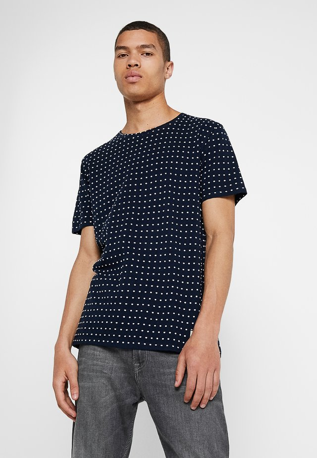 RONNIE - T-shirts med print - navy