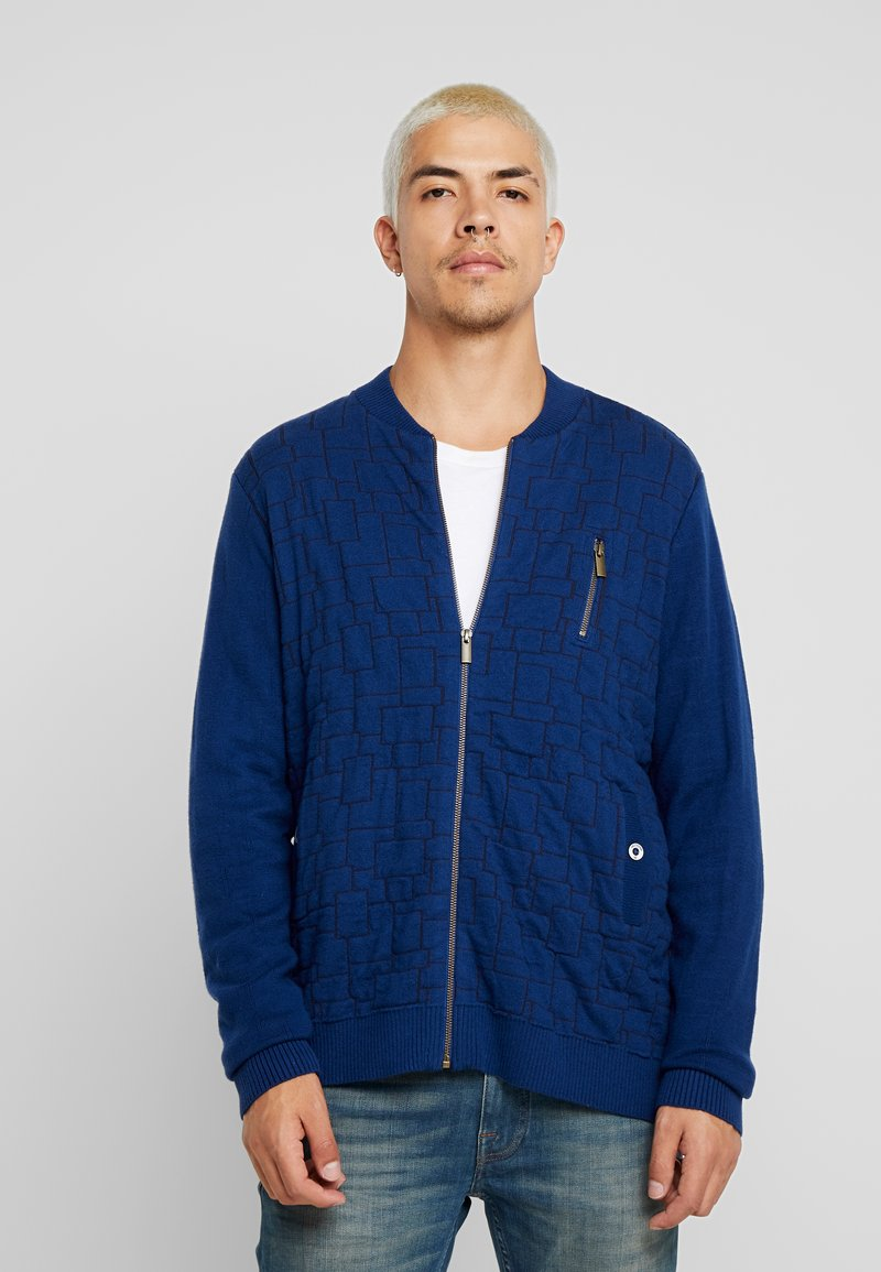 Amsterdenim - BENNIE - Cardigan - navy blue