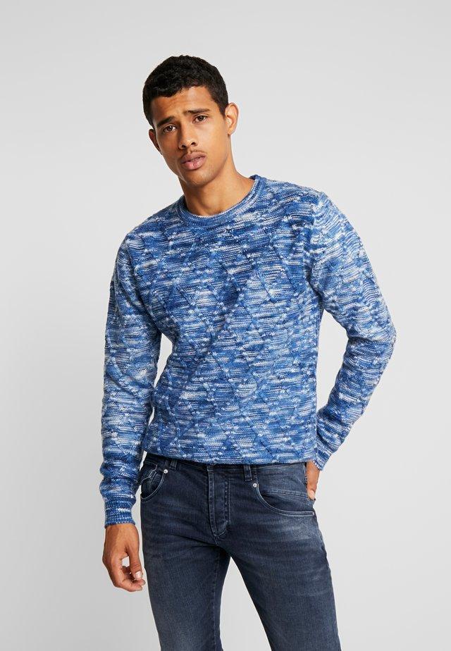 PERSIJN - Stickad tröja - blue melange