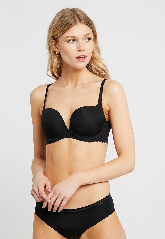 SIGNATURE SMOOTH KISS BRA - Push-up BH - black