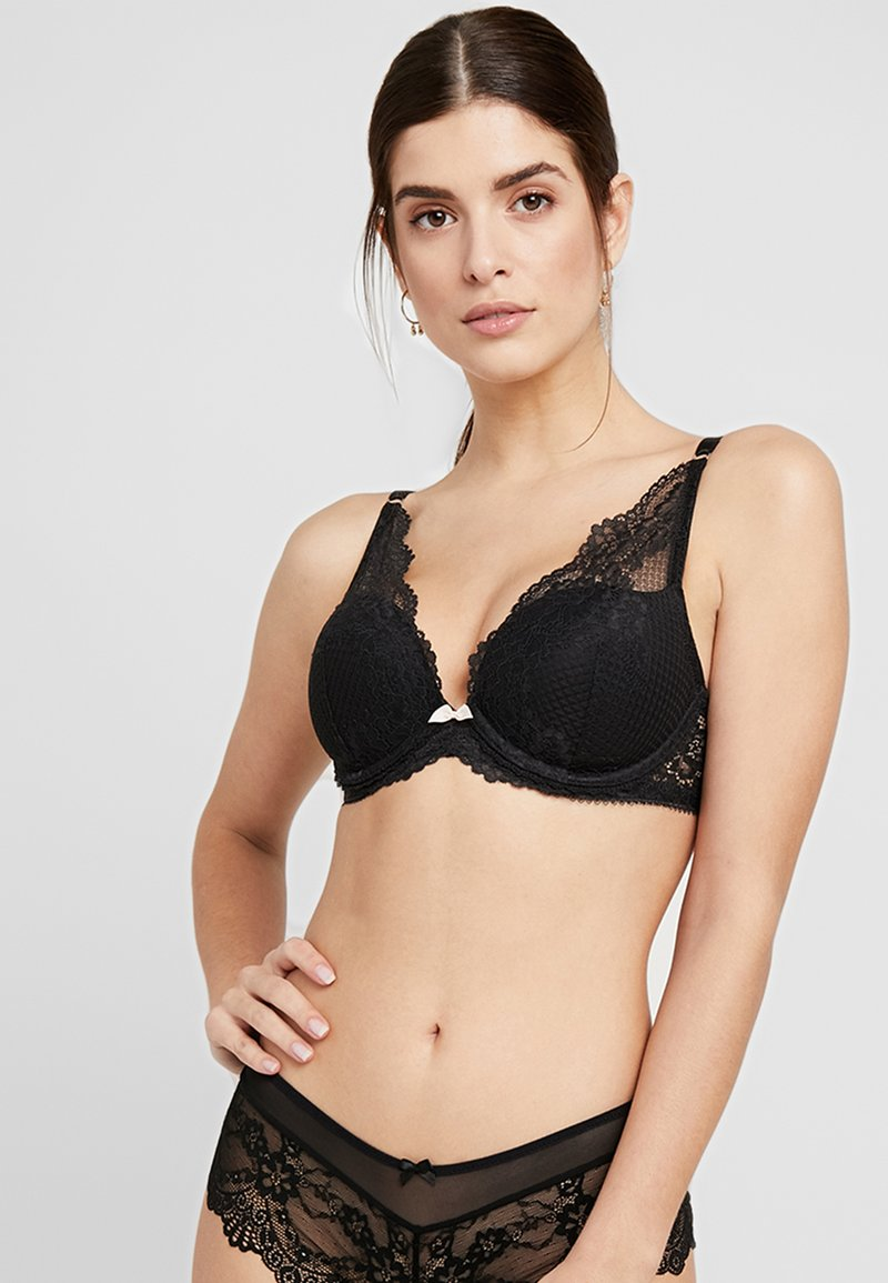 AMOSTYLE - SIGNATURE HOPE BRA - Push-up-bh'er - black