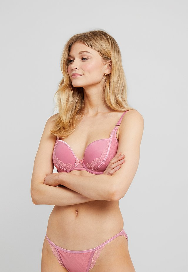 SHEER BRA SPACER - Push-up podprsenka - pink