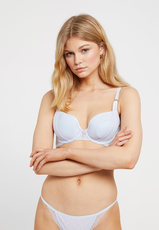 SHEER BRA SPACER - Push-up podprsenka - blue
