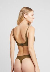 AMOSTYLE - SIGNATURE SMOOTH JOY BRA - Soutien-gorge triangle - dried laver - 2