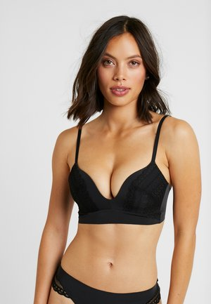 SIGNATURE SMOOTH JOY BRA - Triangle bra - black