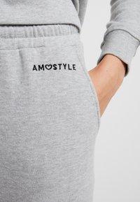 AMOSTYLE - PANT - Pyjamasbukse - grey - 4