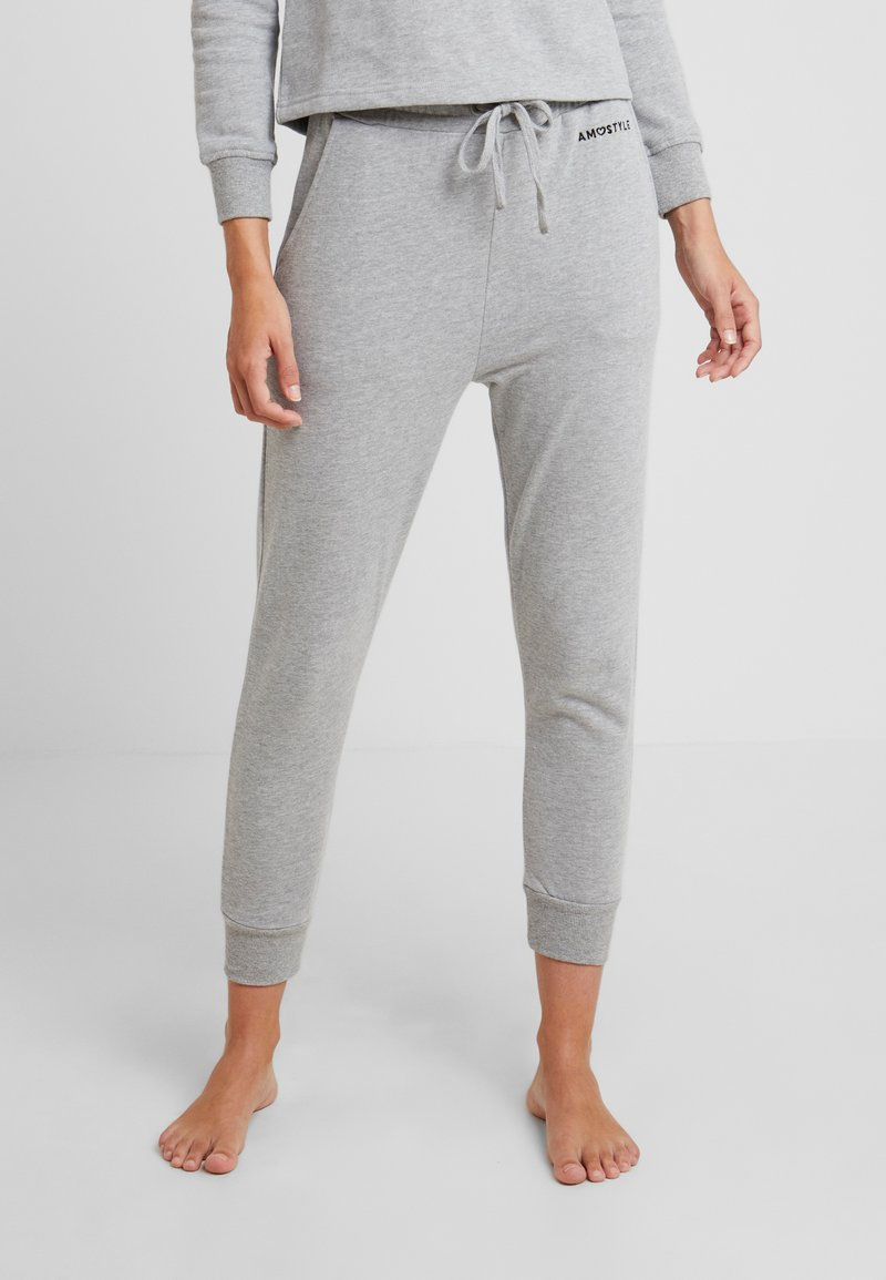 AMOSTYLE - PANT - Nattøj bukser - grey