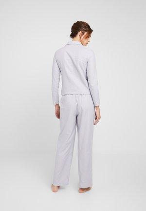 LOOSE PANTS - Pyjamasbyxor - grey combination