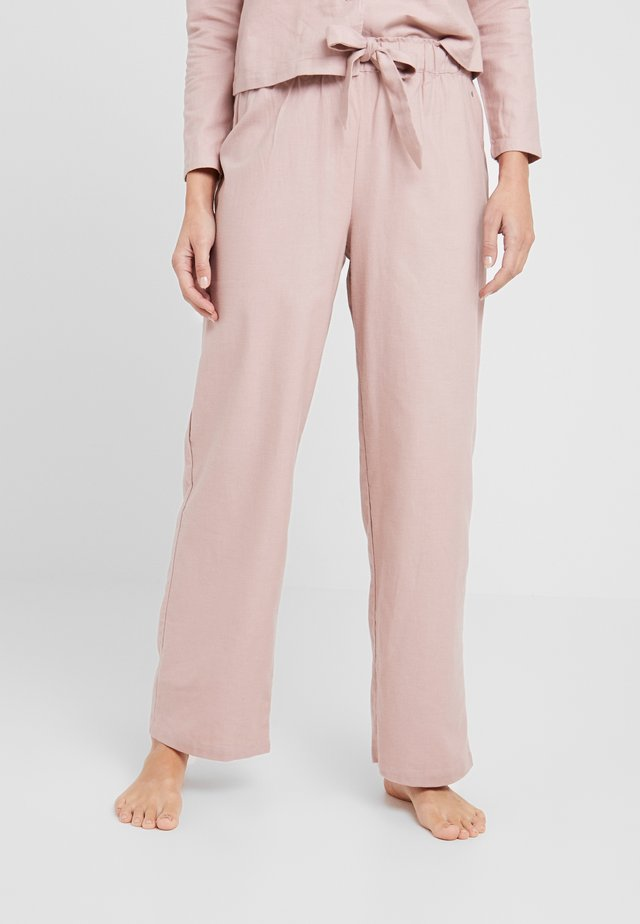 LOOSE PANTS - Spodnie od piżamy - light pink
