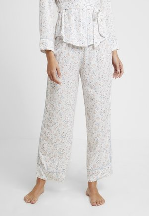 Pyjamasbukse - white light
