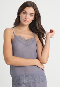 AMOSTYLE - BASIC CAMISOLE - Koszulka do spania - grey - 0