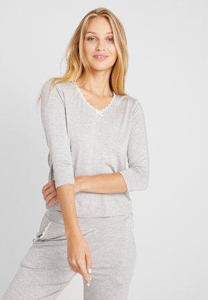 LIGHTWEIGHT - Pyjamasöverdel - grey combination