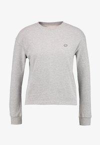 AMOSTYLE - SWEATER - Pyjamashirt - grey combination - 3