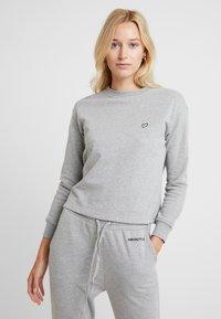 AMOSTYLE - SWEATER - Pyjamashirt - grey combination - 0