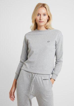 SWEATER - Pyjamasoverdel - grey combination