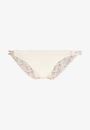 TRENDY FIT FLORAL ASYMETRIC FASHION COLLECTION TANGA MINI - Underbukse - white light combination