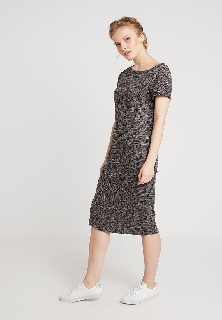 AMOV - ANE DRESS - Jerseykjoler - grey