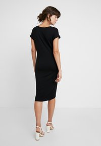AMOV - ANE DRESS - Jerseykjoler - black - 3