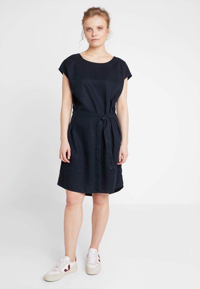 AMOV - BELLE DRESS - Jeanskleid - denim blue