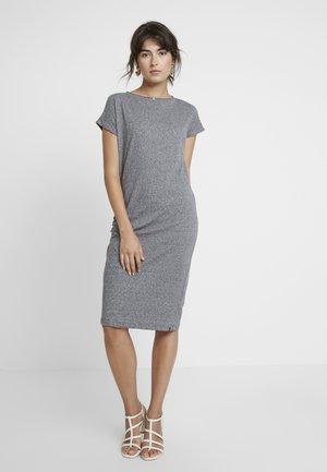 ANE FLAME DRESS - Žerzejové šaty - light grey melange