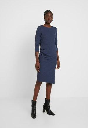 CHARLOT SLUB DRESS - Kjole - mood indigo