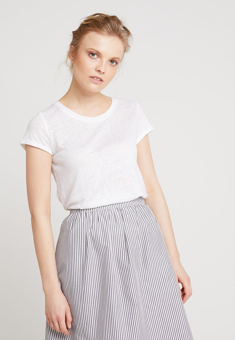 AMOV - ALMA TEE - T-shirt basique - white
