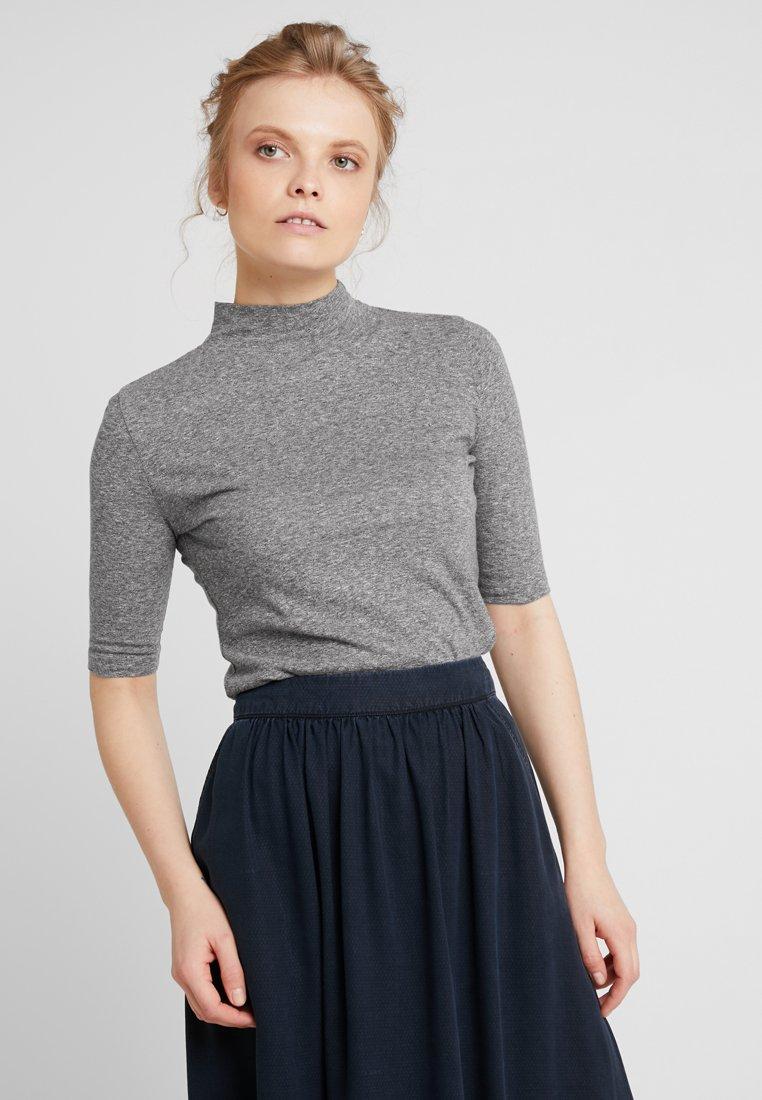 AMOV - AGNES TURTLE NECK - T-Shirt print - dark grey