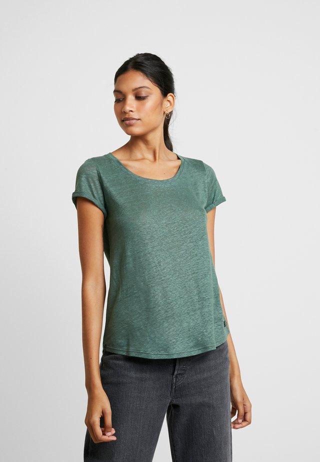 ALMA TEE - Basic T-shirt - bottle green