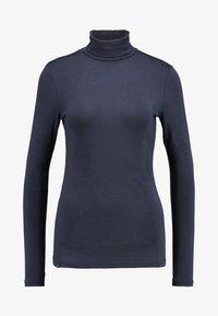 AMOV - COCO ROLL NECK - Langærmede T-shirts - mood indigo - 4