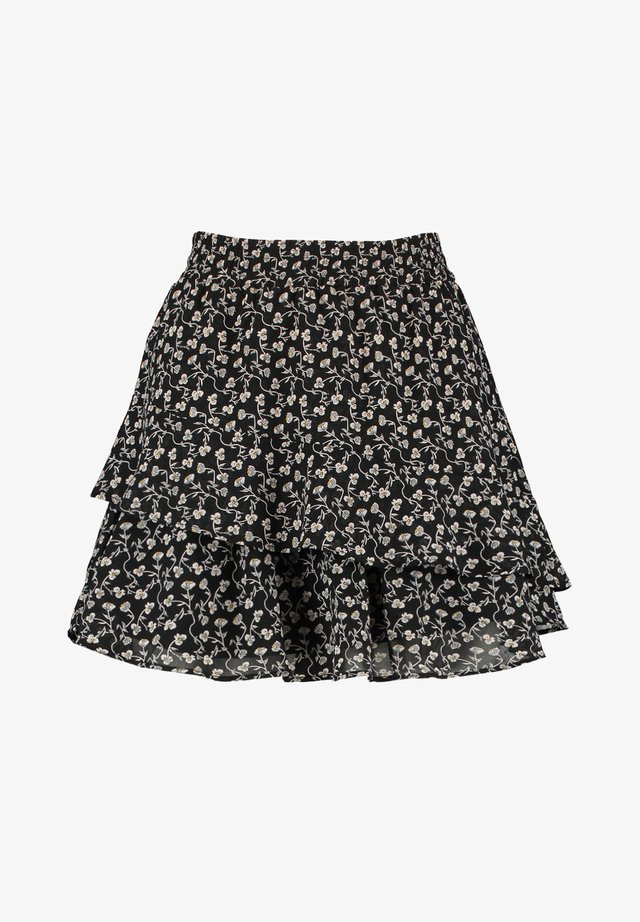 ROCK RILEY - A-lijn rok - flower black