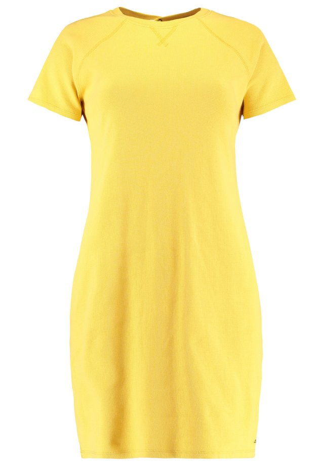 DEBORAH - Korte jurk - empire yellow