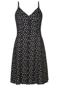America Today - Shirt dress - flower black - 0
