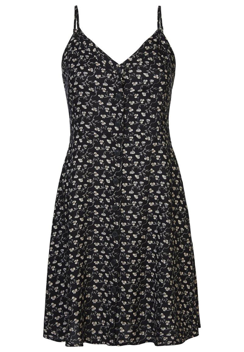 America Today - Shirt dress - flower black