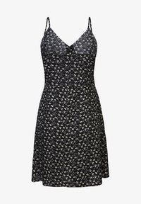America Today - Shirt dress - flower black - 1