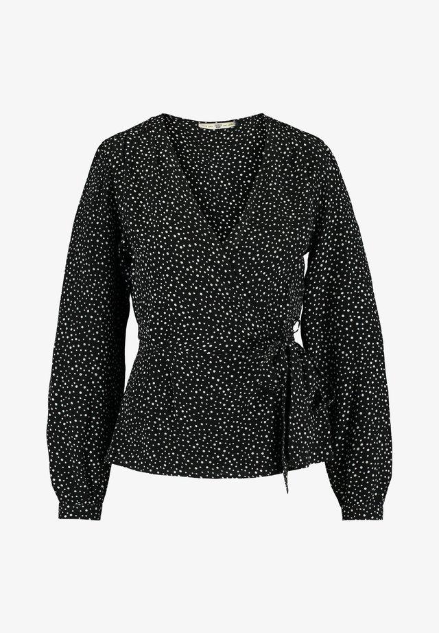 BELLA - Blouse - black/white