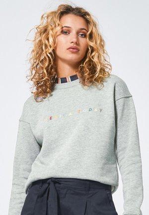 SUZY - Sweatshirt - mid grey melange