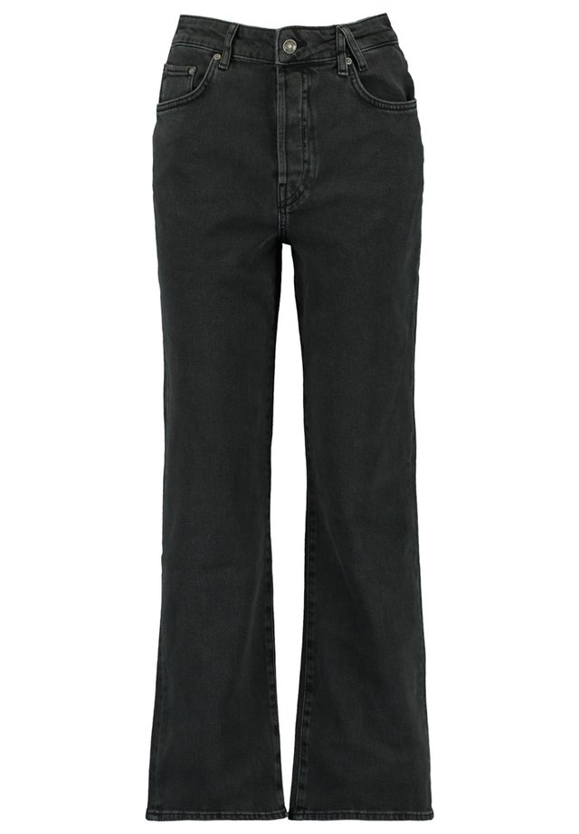 JACKSON - Bootcut jeans - washed black
