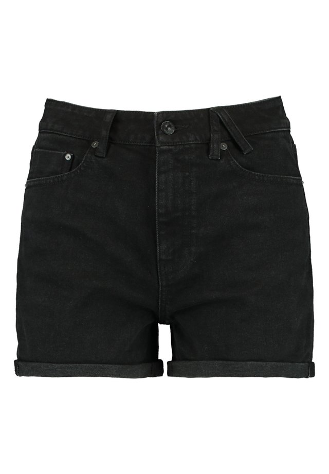 LUCY - Jeansshort - washed black