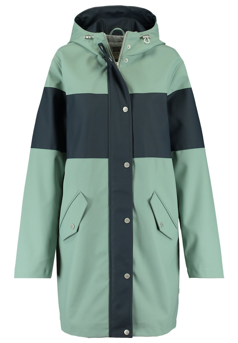 America Today - Parka - green/blue